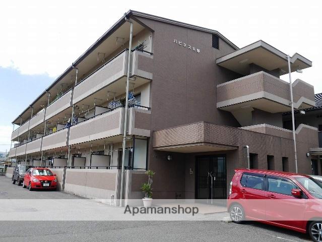 広島県広島市安芸区、矢野駅徒歩5分の築17年 3階建の賃貸マンション