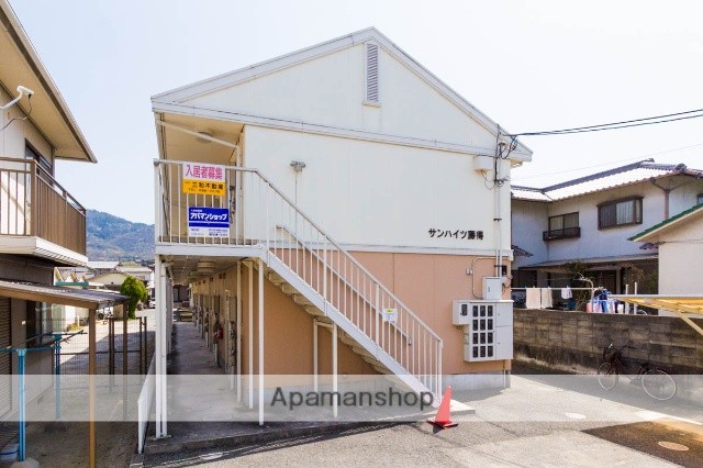 広島県広島市安芸区、矢野駅徒歩5分の築23年 2階建の賃貸アパート