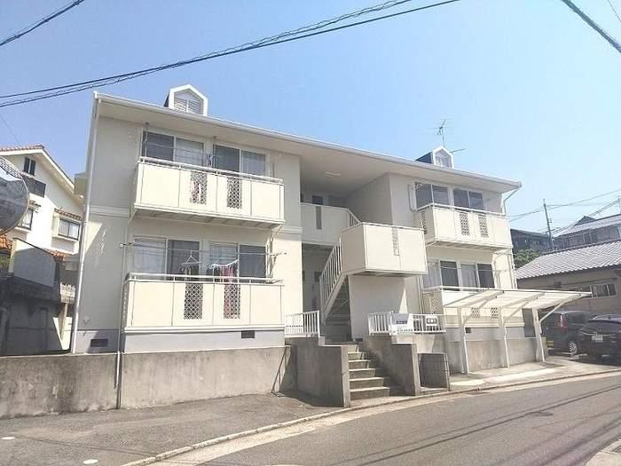 広島県安芸郡府中町の築25年 2階建の賃貸アパート