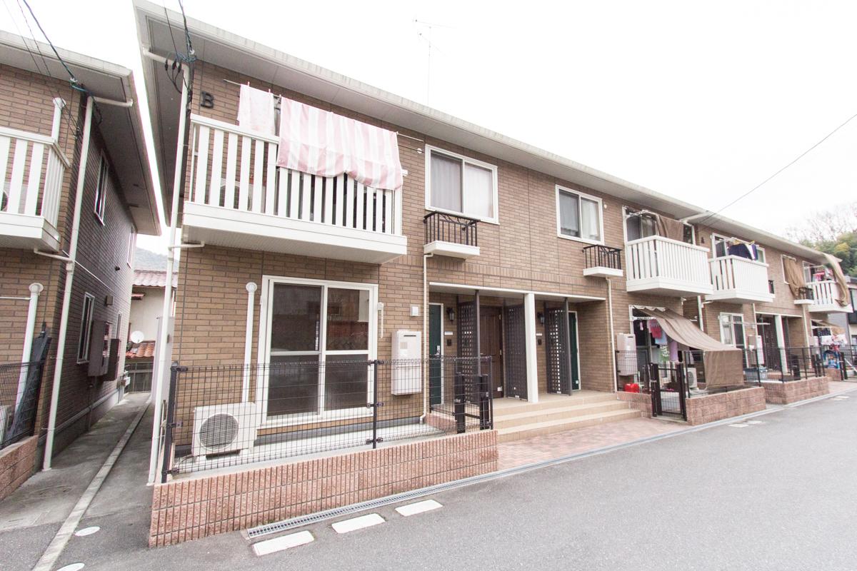 広島県広島市安芸区の築9年 2階建の賃貸アパート