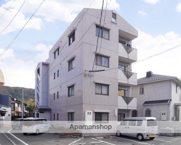 広島県広島市安芸区、矢野駅徒歩6分の築26年 4階建の賃貸マンション