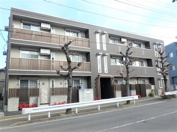 広島県安芸郡府中町、天神川駅徒歩14分の築1年 3階建の賃貸アパート