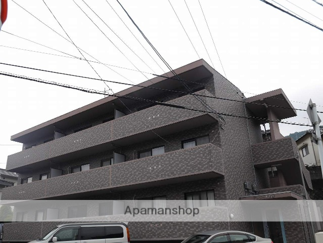 広島県広島市安芸区、中野東駅徒歩20分の築14年 3階建の賃貸マンション