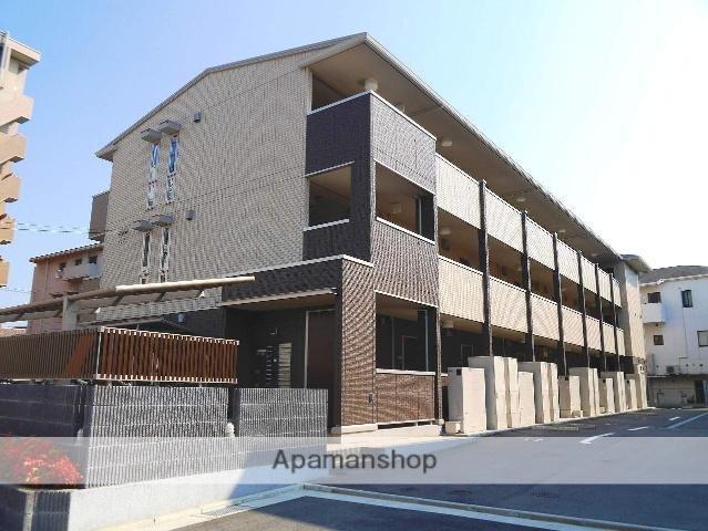 広島県広島市南区、向洋駅徒歩20分の築1年 3階建の賃貸アパート