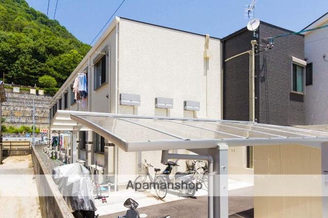 広島県安芸郡海田町、安芸中野駅徒歩19分の新築 2階建の賃貸アパート