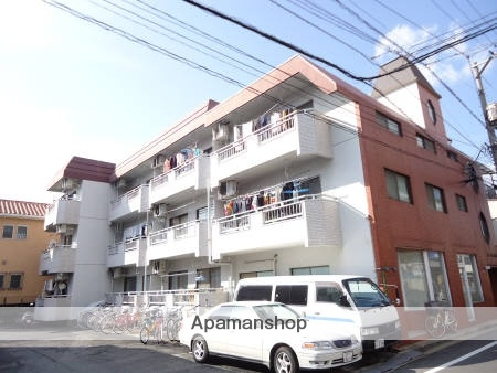 広島県広島市南区、向洋駅徒歩29分の築36年 3階建の賃貸マンション