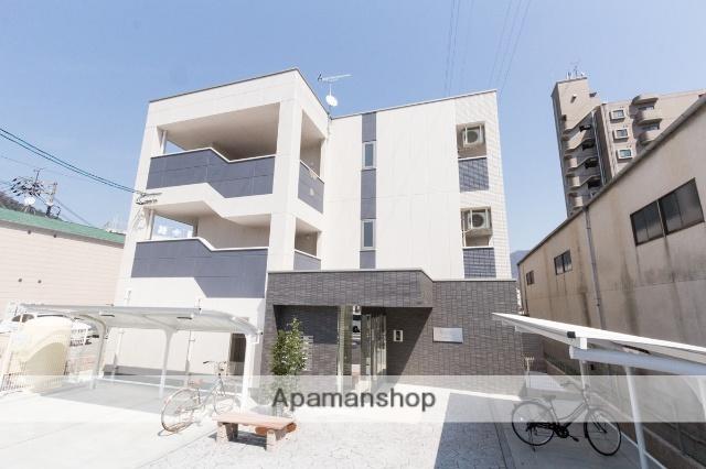 広島県安芸郡海田町、海田市駅徒歩10分の新築 3階建の賃貸マンション