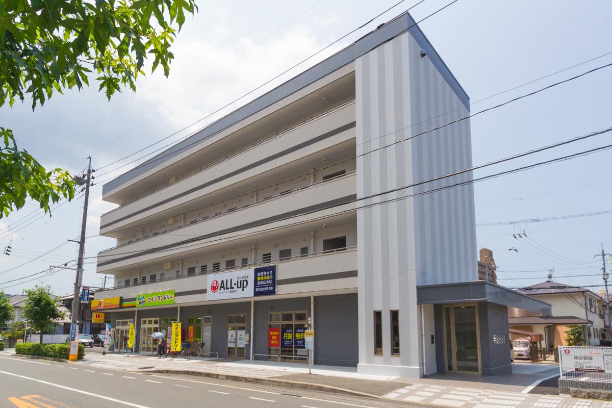 広島県安芸郡海田町、海田市駅徒歩11分の新築 4階建の賃貸アパート