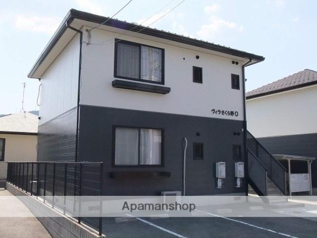 広島県安芸郡熊野町の築18年 2階建の賃貸アパート