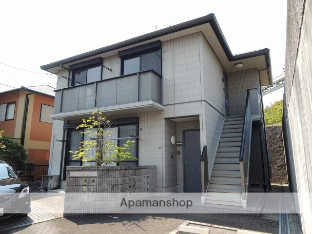 広島県広島市安芸区、みどり中街駅徒歩2分の築16年 2階建の賃貸アパート