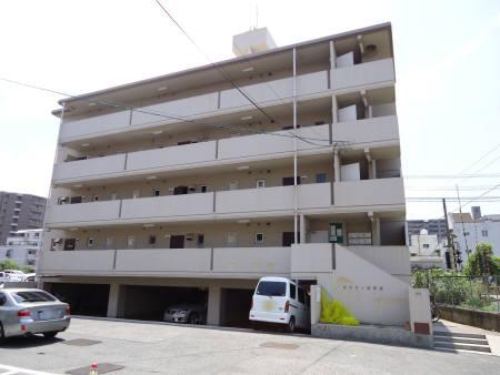 広島県広島市安芸区、矢野駅徒歩14分の築28年 5階建の賃貸マンション
