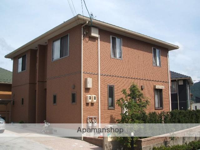 広島県広島市安芸区、みどり口駅徒歩19分の築11年 2階建の賃貸テラスハウス