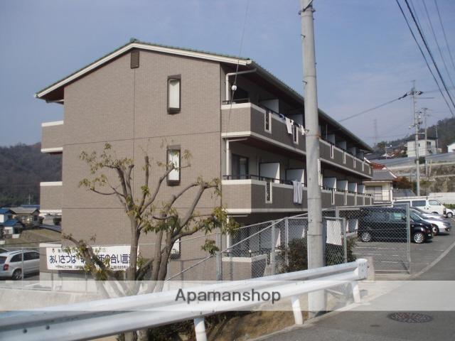 広島県広島市安芸区、中野東駅徒歩20分の築18年 3階建の賃貸マンション