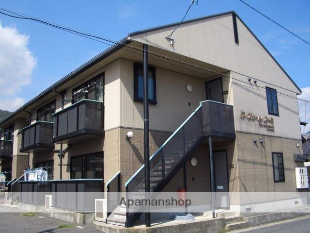 広島県大竹市、大竹駅徒歩2分の築17年 2階建の賃貸アパート