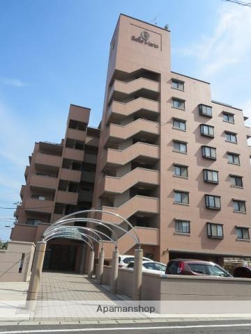 広島県大竹市、大竹駅徒歩10分の築27年 8階建の賃貸マンション