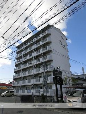 山口県下関市、新下関駅徒歩14分の築23年 7階建の賃貸マンション