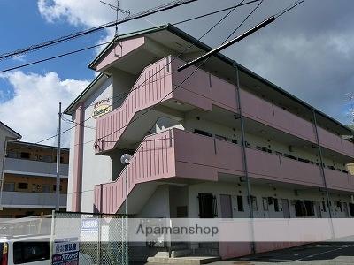 山口県下関市、新下関駅徒歩30分の築27年 3階建の賃貸アパート