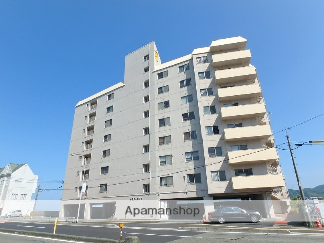 山口県下関市、下関駅徒歩68分の築44年 8階建の賃貸マンション