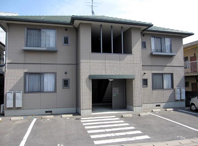 山口県下関市、幡生駅徒歩13分の築14年 2階建の賃貸アパート