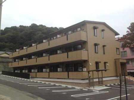 山口県下関市、下関駅サンデンバスバス10分西之端下車後徒歩10分の築1年 3階建の賃貸アパート