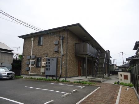 山口県光市の築8年 2階建の賃貸アパート