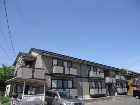 山口県光市の築17年 2階建の賃貸アパート