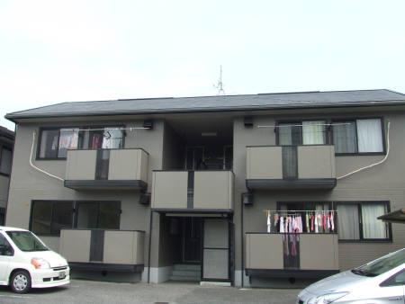 山口県光市の築20年 2階建の賃貸アパート