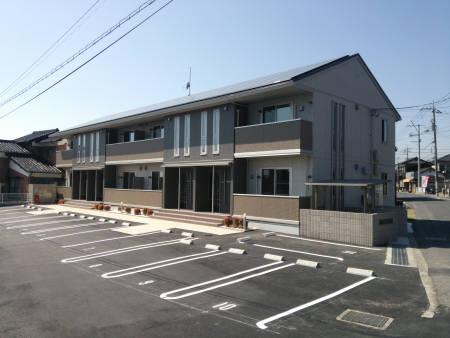 山口県下松市、周防花岡駅徒歩15分の築1年 2階建の賃貸アパート