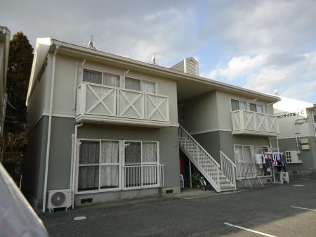 山口県光市の築24年 2階建の賃貸アパート