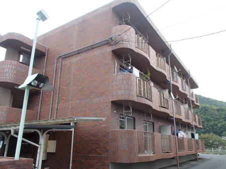 山口県下松市、周防花岡駅徒歩16分の築20年 3階建の賃貸マンション