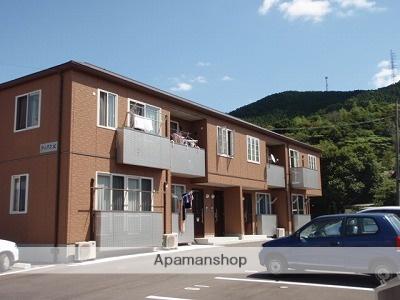 山口県光市の築9年 2階建の賃貸アパート