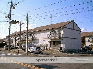 山口県光市の築23年 2階建の賃貸アパート