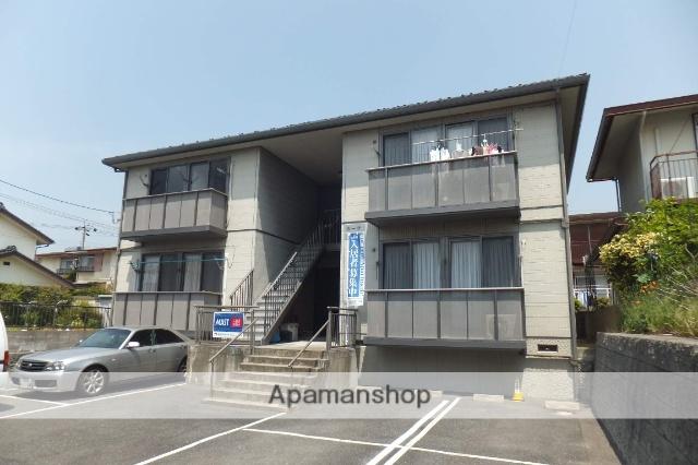 山口県光市、光駅徒歩10分の築16年 2階建の賃貸アパート