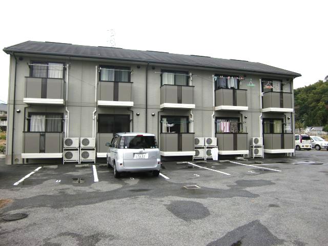 山口県下松市、下松駅徒歩30分の築17年 2階建の賃貸アパート