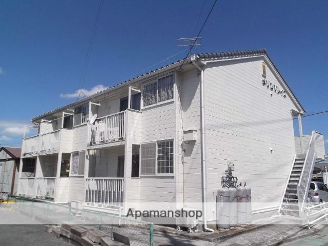 山口県宇部市、宇部駅徒歩9分の築25年 2階建の賃貸アパート