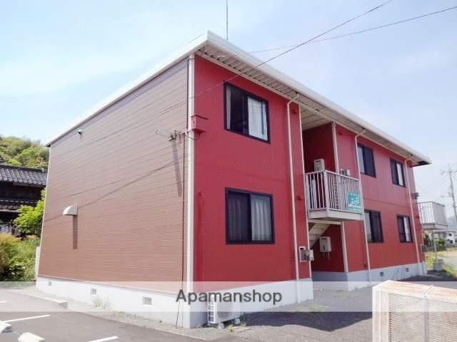 山口県山陽小野田市、厚狭駅徒歩13分の築30年 2階建の賃貸アパート