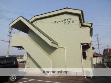 山口県山陽小野田市、小野田駅徒歩23分の築30年 2階建の賃貸アパート