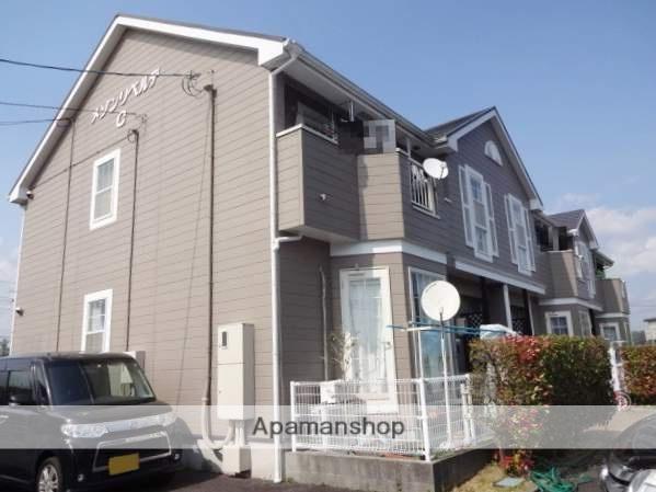 山口県山陽小野田市、厚狭駅徒歩15分の築19年 2階建の賃貸アパート