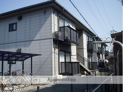 山口県山陽小野田市、小野田駅徒歩8分の築19年 2階建の賃貸アパート