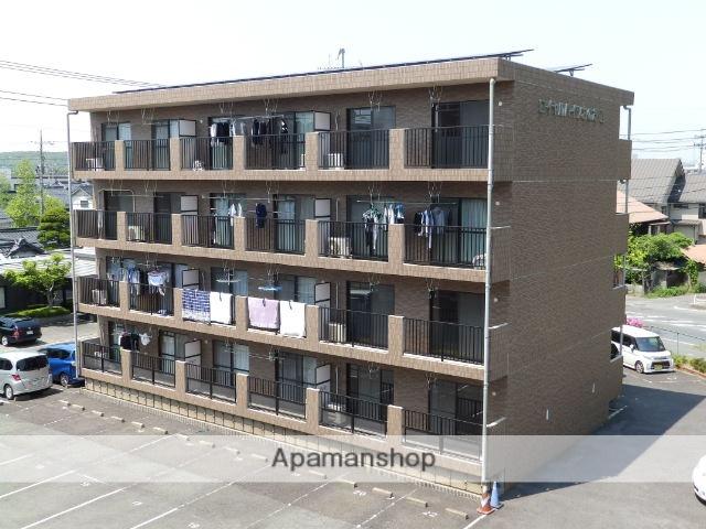 山口県山陽小野田市、南中川駅徒歩2分の築17年 4階建の賃貸マンション
