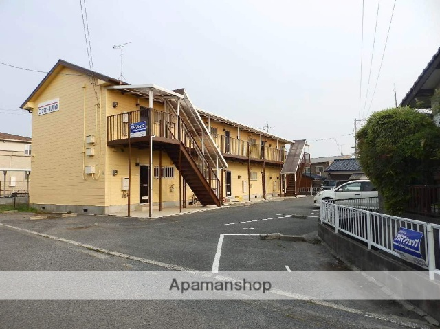 山口県宇部市、常盤駅徒歩22分の築24年 2階建の賃貸アパート