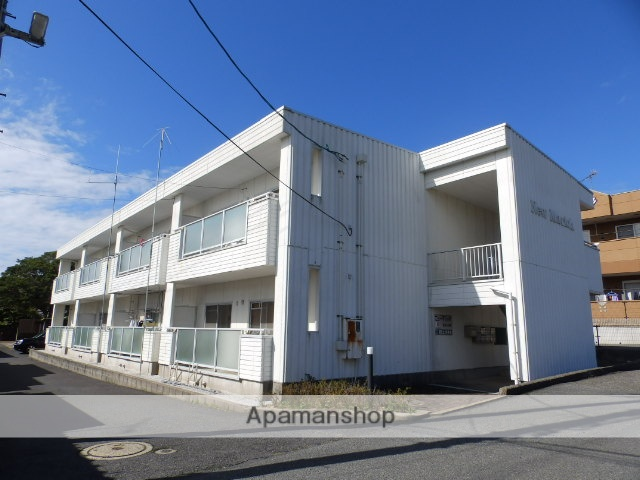山口県宇部市、常盤駅徒歩2分の築20年 2階建の賃貸アパート