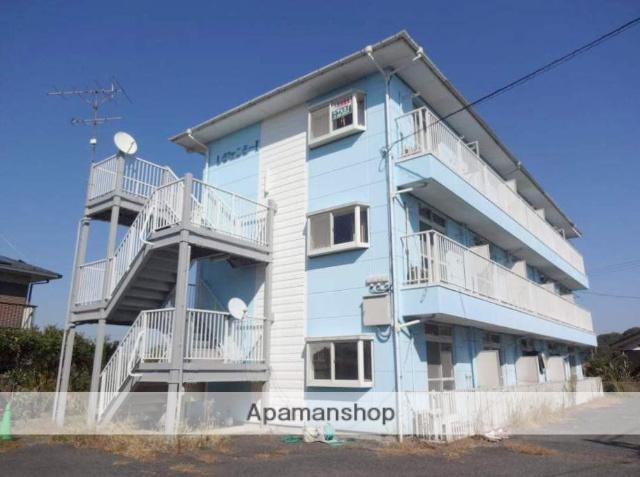 山口県宇部市、岐波駅徒歩10分の築24年 3階建の賃貸アパート