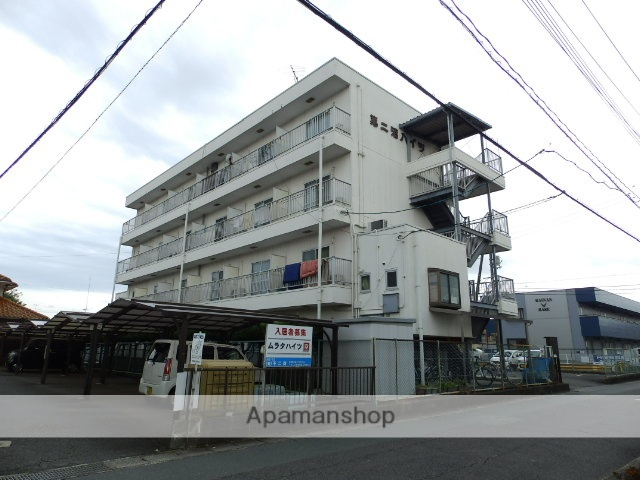 山口県宇部市、琴芝駅徒歩18分の築27年 4階建の賃貸アパート