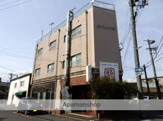 山口県宇部市、東新川駅徒歩20分の築49年 3階建の賃貸マンション