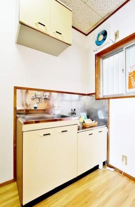 グリーンハイム[1K/18.26m2]のキッチン