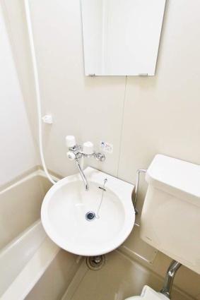 グリーンハイム[1K/18.26m2]の洗面所