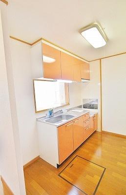 マスターズA[1LDK/45.72m2]のキッチン