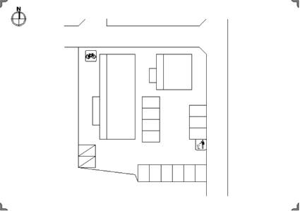 サンクレール沙羅[1R/29.4m2]の配置図
