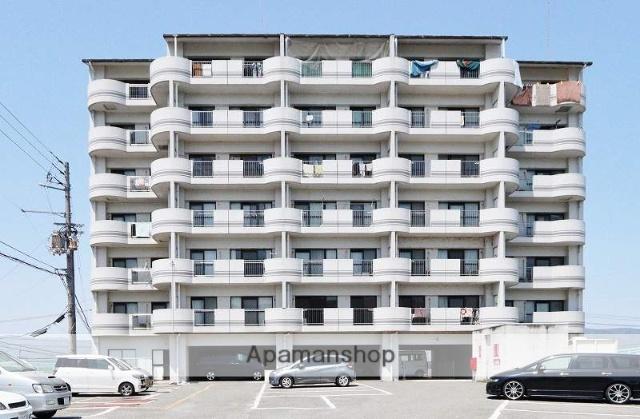 徳島県吉野川市、西麻植駅徒歩16分の築26年 8階建の賃貸マンション